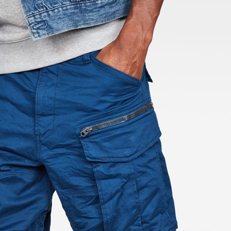 G-Star Raw ROVIC ZIP Relaxed Fit Pantaloncini Mazarine blue