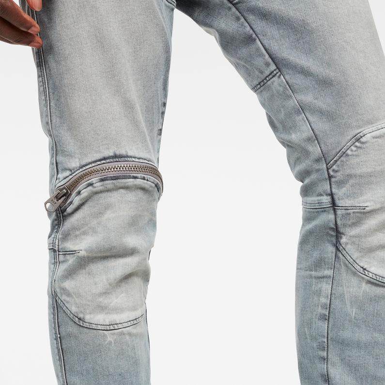 5620 G Star Elwood 3D Zip Knee Skinny Jeans | G Star RAW®