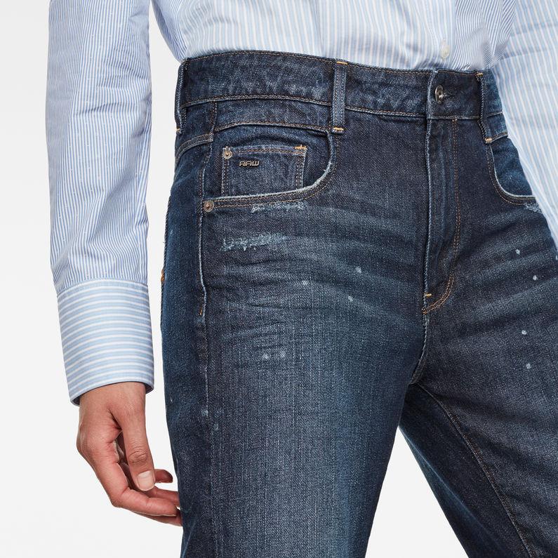G STAR RAW Damen Radar Mid Tapered Boyfriend Jeans