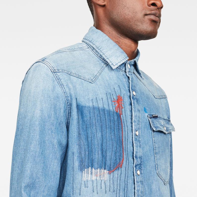 3301 Slim Overhemd | Medium Aged Color Restored | G Star RAW®