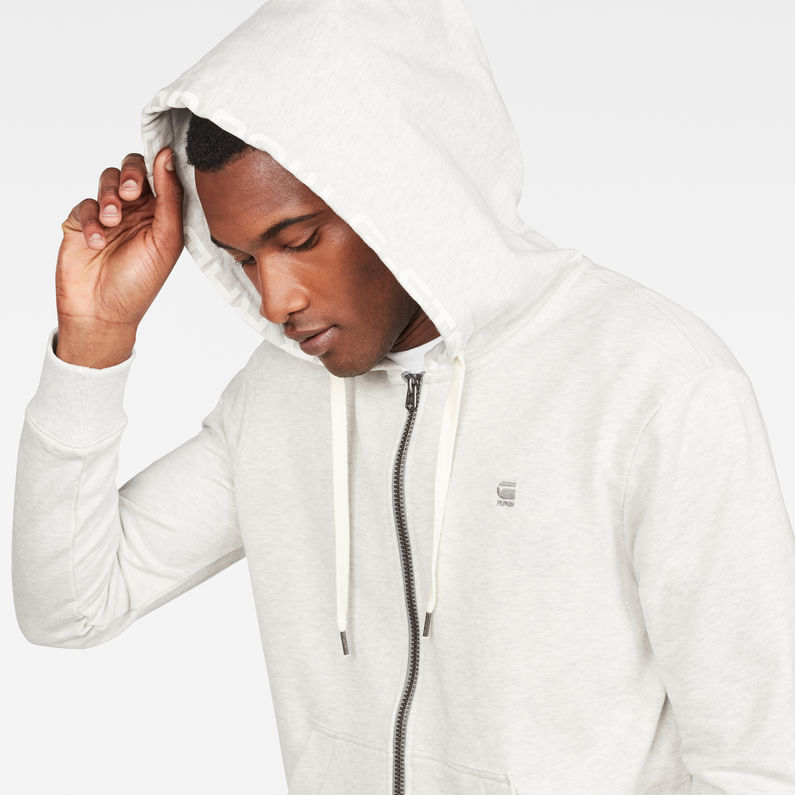 Sweat à capuche Graphic 8 Core Hooded Zip Through | G Star RAW®