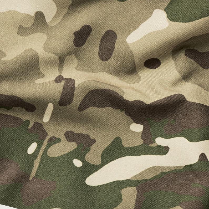 Army Zwembroek.Dirik Zwembroek Khaki Army Green Heren G Star Raw