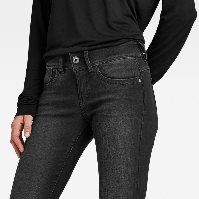 Lynn Mid Waist Skinny Jeans | Dusty Grey | Femmes | G Star RAW®