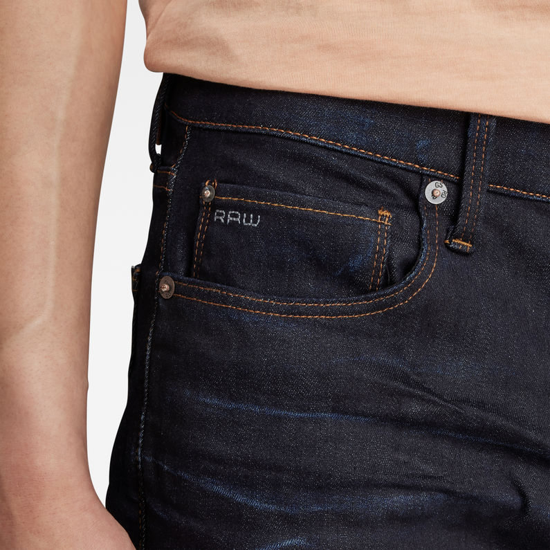 3301 Straight Tapered Jeans | Dark Aged | Hommes | G Star RAW®