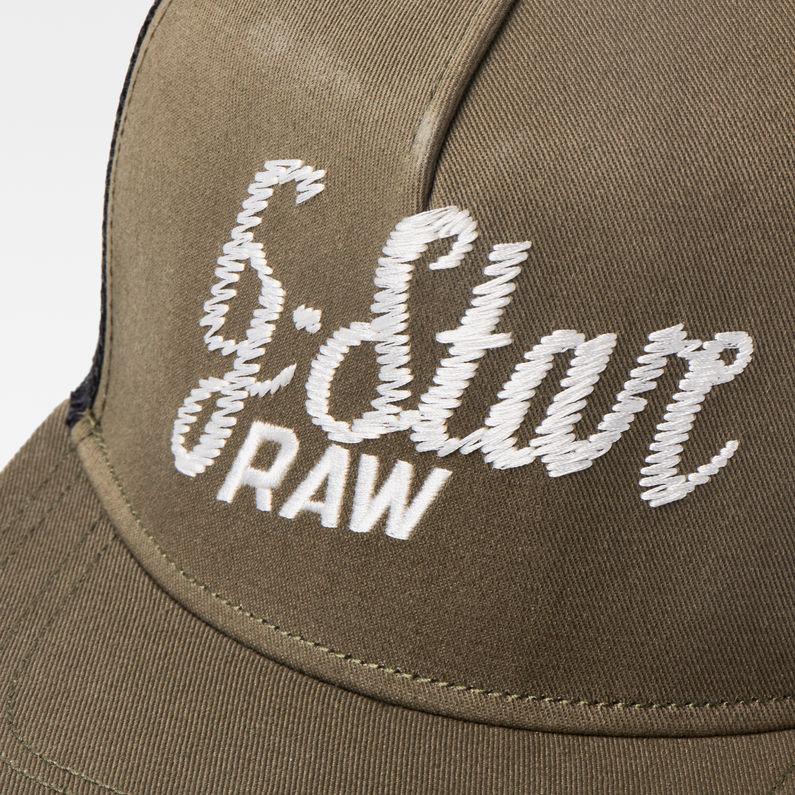 G-STAR RAW Cart Trucker Cap Gorra de b/éisbol para Hombre