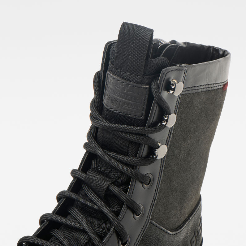 Bottes Tendric Zip | roverblack | Hommes | G Star RAW®