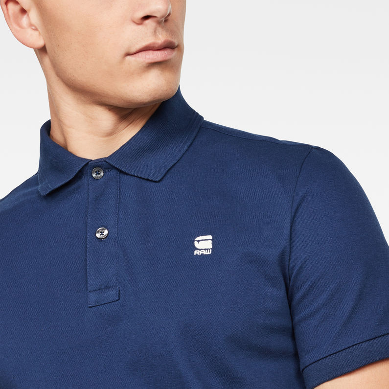 Polo Dunda Slim | Imperial Blue | G Star RAW®