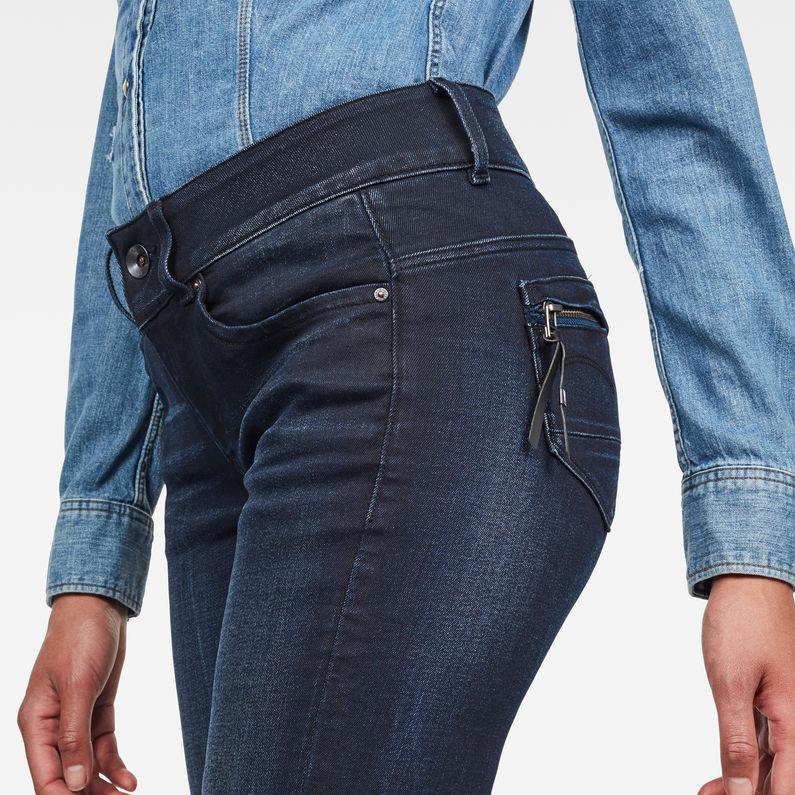 G-STAR RAW Womens Midge Cody Mid Waist Skinny Jeans