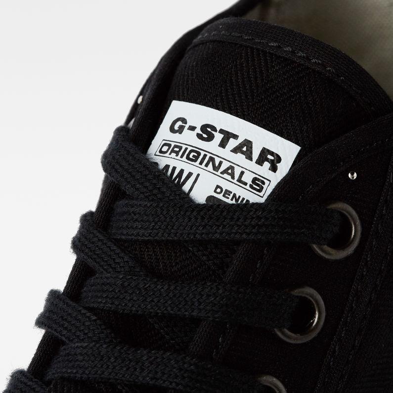 Rovulc HB Mid Sneakers   Black   G-Star