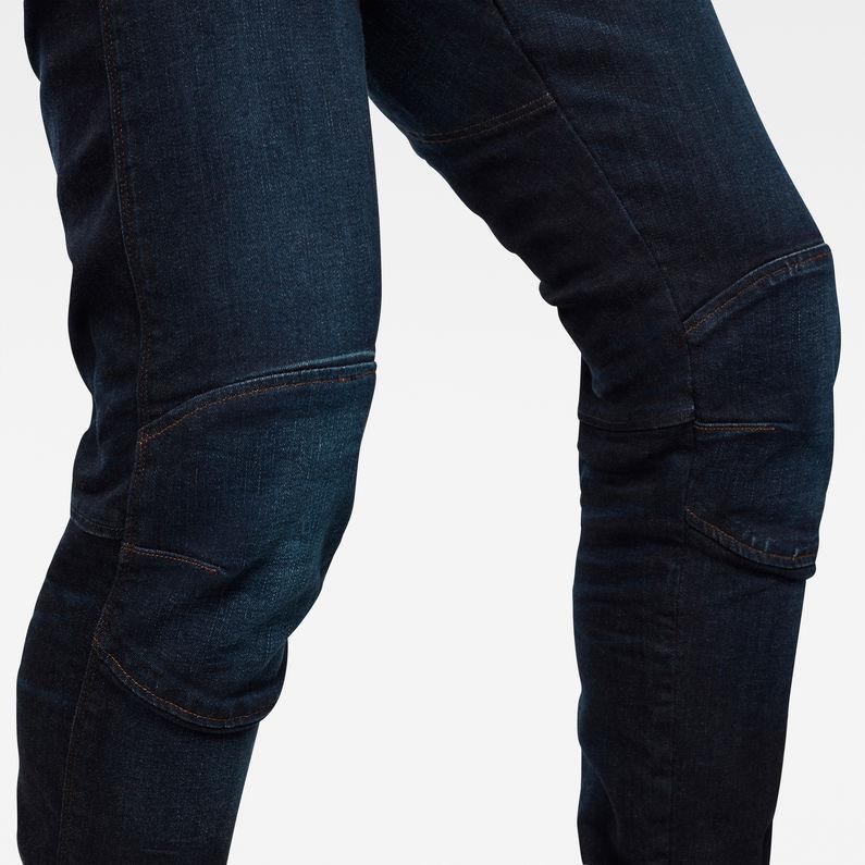 G-Star Raw Mens 5620 Elwood 3D Slim Jeans Vintage Azure