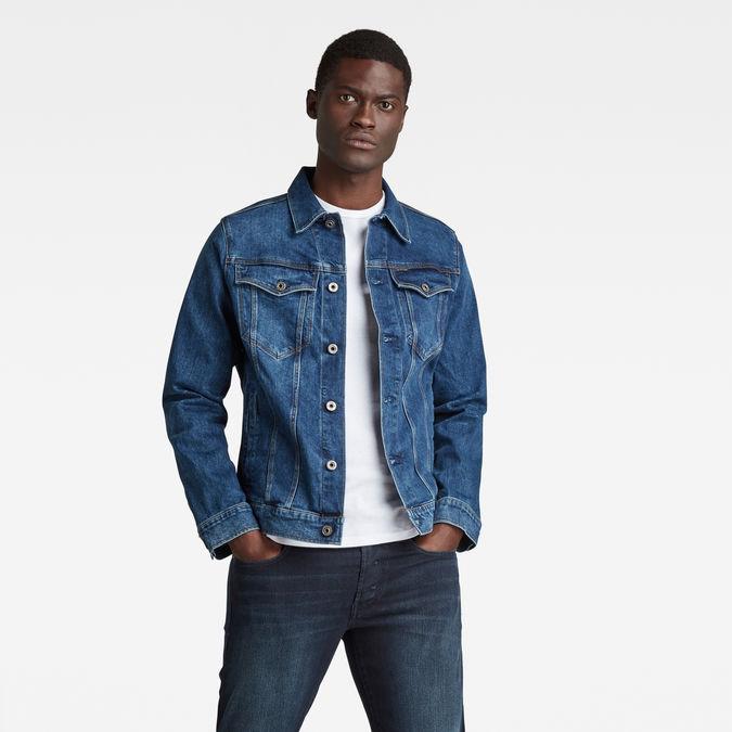 3301 Slim Jacket Faded Stone G Star Raw